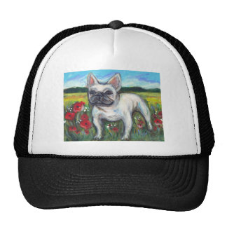 French Bulldog poppies Trucker Hat