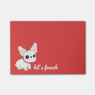 French Bulldog Post-it notes