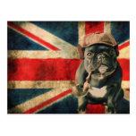 French Bulldog Postcard