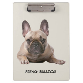 French Bulldog Puppy Clipboard