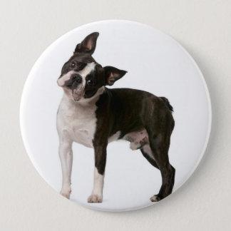 French bulldog - puppy dog - frenchie dog 4 inch round button