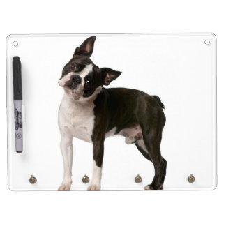 French bulldog - puppy dog - frenchie dog dry erase board with keychain holder