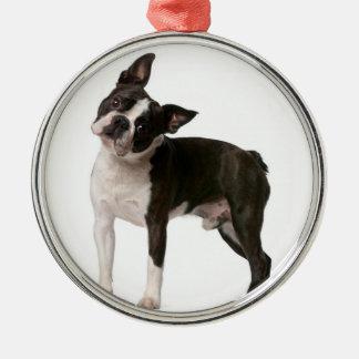 French bulldog - puppy dog - frenchie dog metal ornament