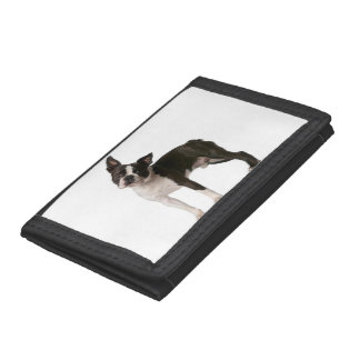 French bulldog - puppy dog - frenchie dog tri-fold wallet