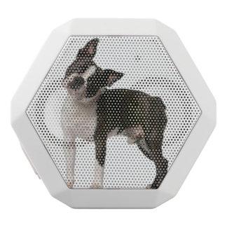 French bulldog - puppy dog - frenchie dog white bluetooth speaker