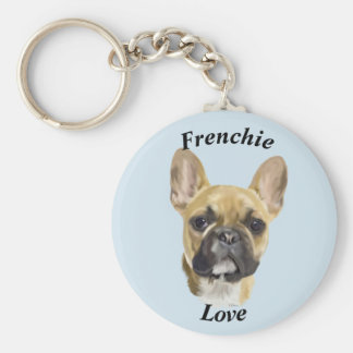 French Bulldog Puppy Keychain