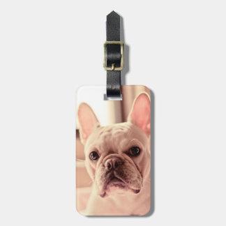 French Bulldog Puppy Luggage Tag