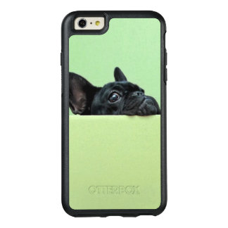French Bulldog Puppy Peering Over Wall OtterBox iPhone 6/6s Plus Case