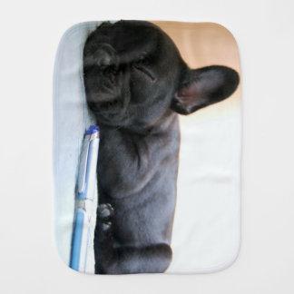 french bulldog puppy.png burp cloth