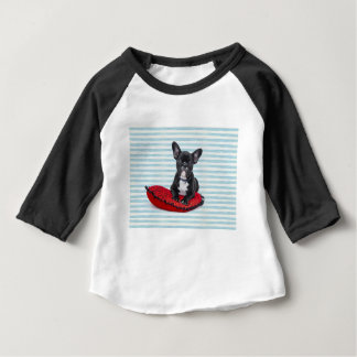 French Bulldog Puppy Portrait Baby T-Shirt