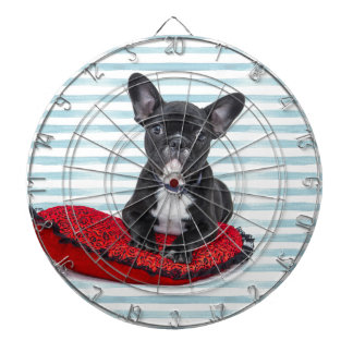 French Bulldog Puppy Portrait Dartboard