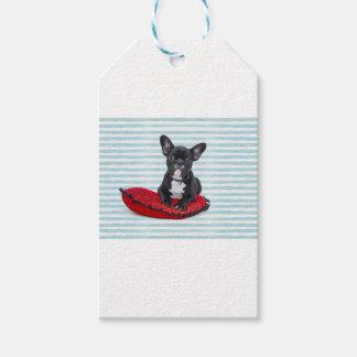 French Bulldog Puppy Portrait Gift Tags
