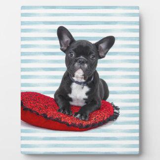 French Bulldog Puppy Portrait Plaque