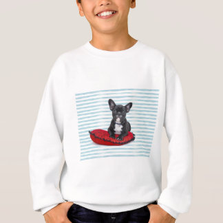 French Bulldog Puppy Portrait Sweatshirt