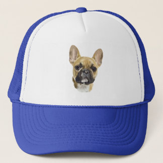 French Bulldog Puppy Trucker Hat