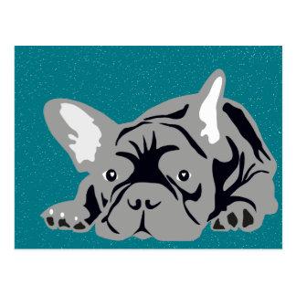 French Bulldog pure Postcard
