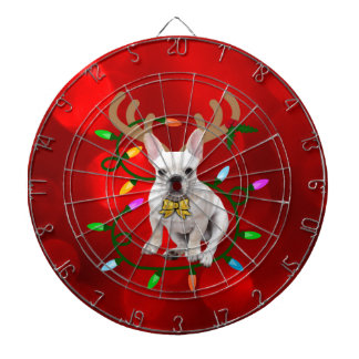 French Bulldog Reindeer Dartboard