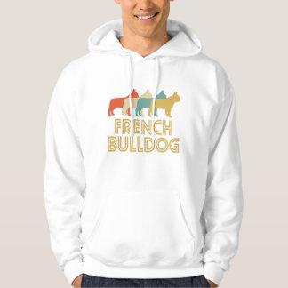 French Bulldog Retro Pop Art Hoodie