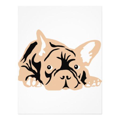 French Bulldog rose Custom Flyer