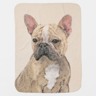 French Bulldog (Sable) Baby Blanket