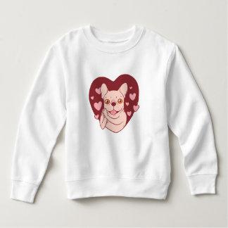 French Bulldog Sharing Love and Passion Sweatshirt
