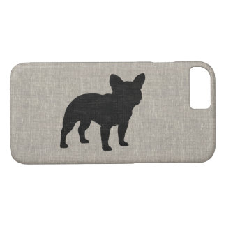 French Bulldog Silhouette iPhone 8/7 Case