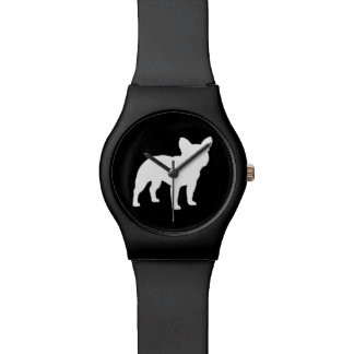 French Bulldog Silhouette Watch
