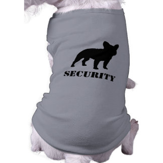 French Bulldog Silhouette with Text Pet Clothes