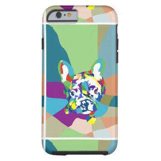 French Bulldog sitting Tough iPhone 6 Case