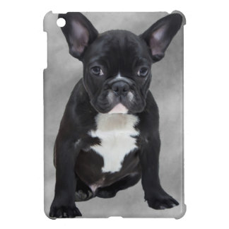 French Bulldog Sitting Watercolor Oil Painting Cover For The iPad Mini
