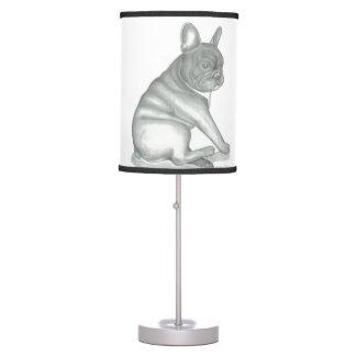 French Bulldog sketch lamp