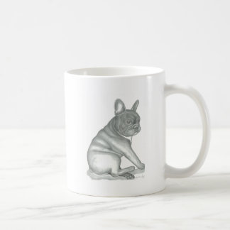 French Bulldog sketch mug