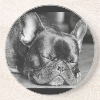 French Bulldog Sleeping Coaster