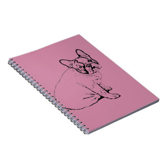 French Bulldog Spiral Note Book