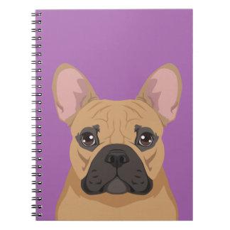 French Bulldog Spiral Note Books