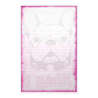 French Bulldog Stationary Personalized Stationery