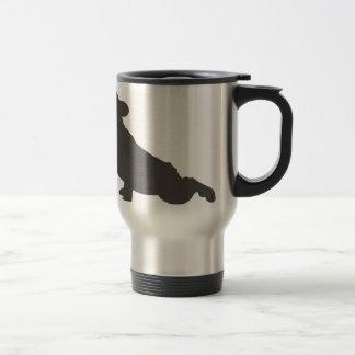 French Bulldog Stretching Travel Mug