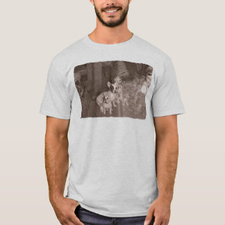 French Bulldog t-shirt backward