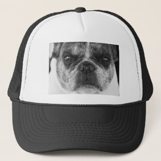 french-bulldog trucker hat