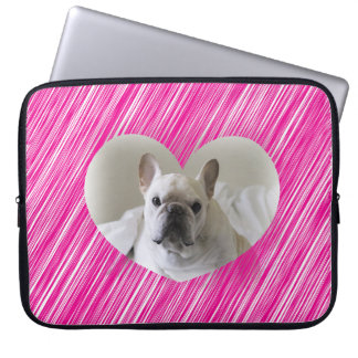 French Bulldog Valentine's Day Laptop Sleeves