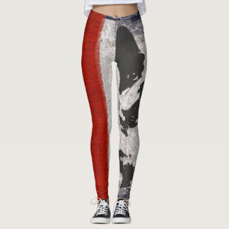French Bulldog Womens Leggings Pants