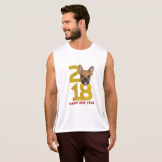 French bulldog Year of the Dog 2018 New Year Shirt