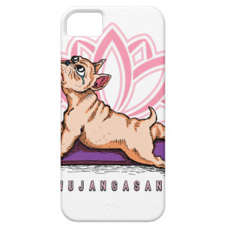 French Bulldog Yoga - Bhujangasana Pose - Funny Case For The iPhone 5