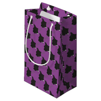 French Bulldogge head silhouette Small Gift Bag