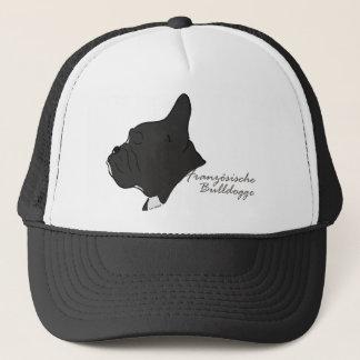 French Bulldogge head silhouette Trucker Hat