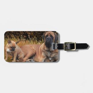 French Bulldoggen Mastiff Kofferanhänger Luggage Tag