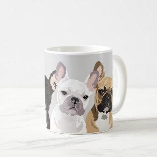 French Bulldogs | Cute Frenchie Bulldog Coffee Mug