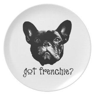 French Bulle' Party Plate