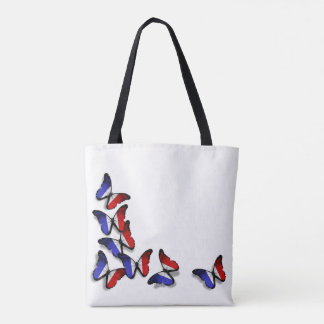 French Butterfly Flags Bag
