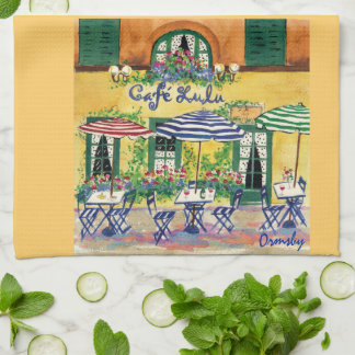 French Cafe-towel Kitchen Towel